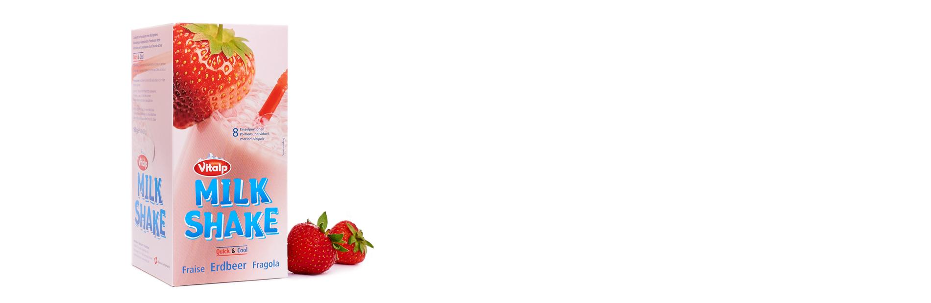 Vitalp Milk Shake Erdbeere
