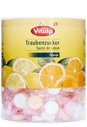 Image Traubenzucker Orange - Himbeere - Zitrone